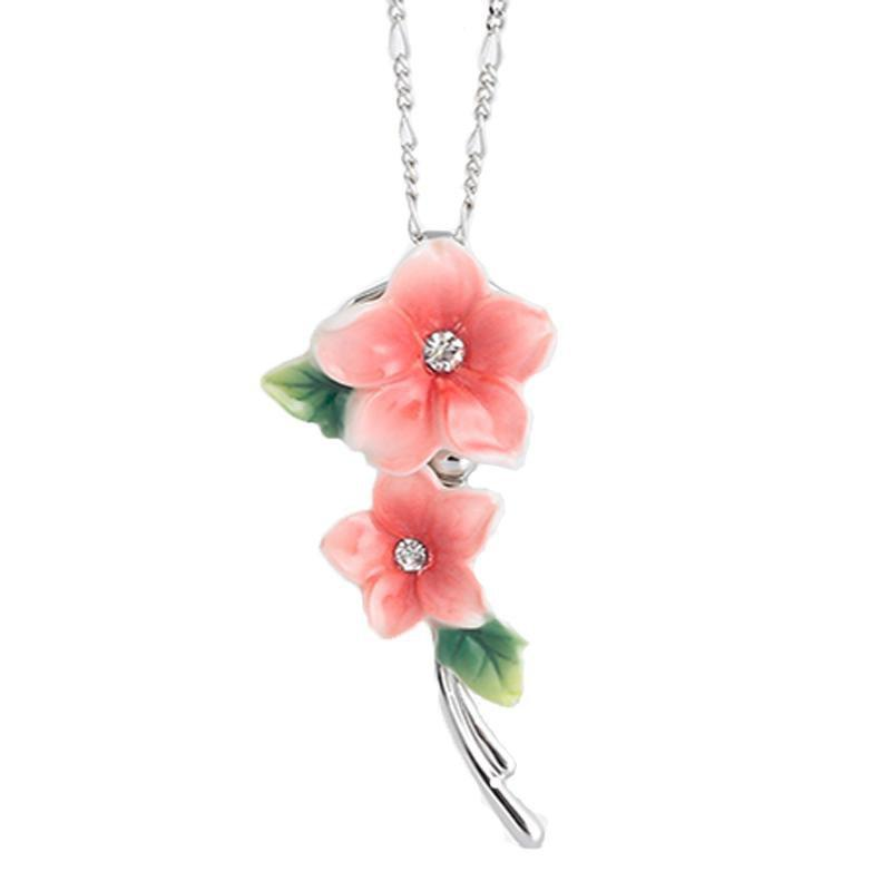 Franz Collection Camellia Necklace FJ00203