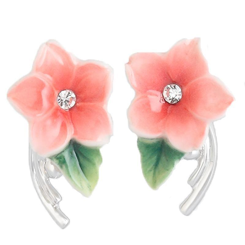 Franz Collection Camellia Pierced Earrings FJ00204