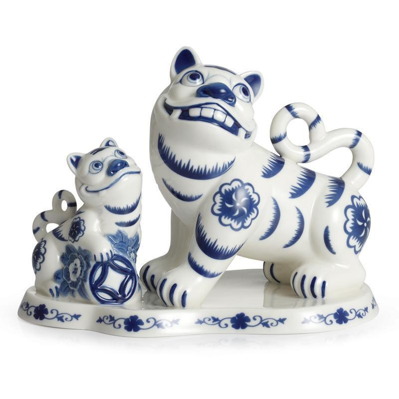 Franz Collection Collection The Tigers Of Fortune Tiger Figurine FZ02313