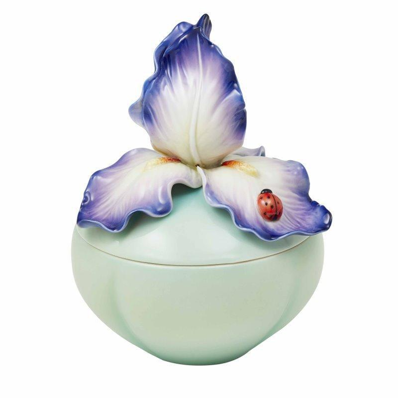 Franz Collection Colorful Life Iris Lidded Box FZ03700