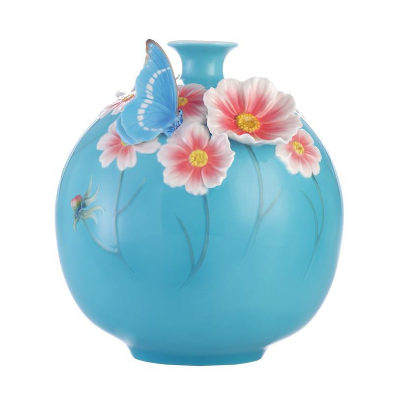 Franz Collection Cosmos Butterfly Vase FZ03159