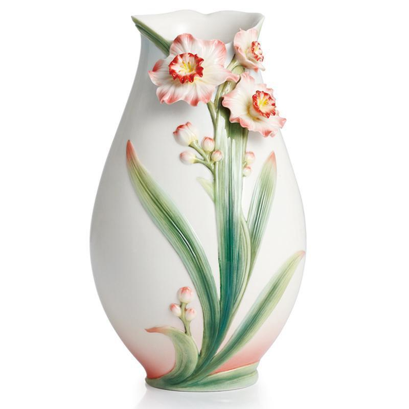 Franz Collection Daffodil Vase FZ02301