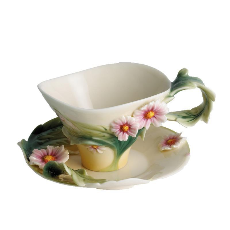 Franz Collection Daisy Small Cup & Saucer FZ00772