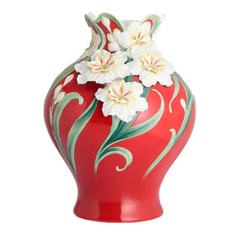 Franz Collection Divine Blessings Daffodil Vase Fz02896 Biggs Ltd