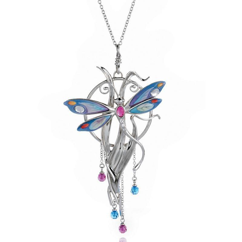 Franz Collection Dragonfly Necklace FJ00137
