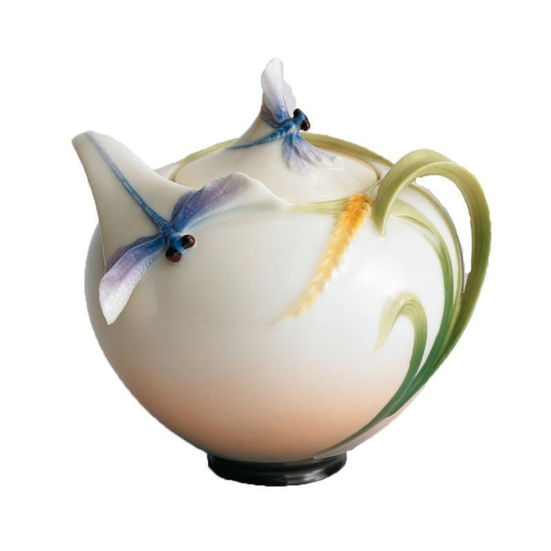 Franz Collection Dragonfly Sugar Jar FZ00119
