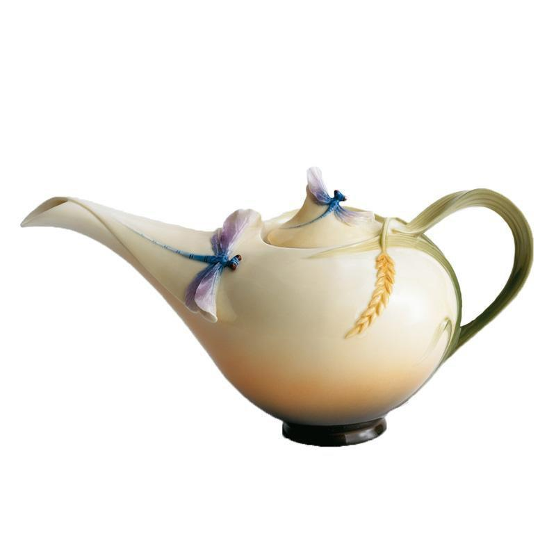 Franz Collection Dragonfly Teapot FZ00117