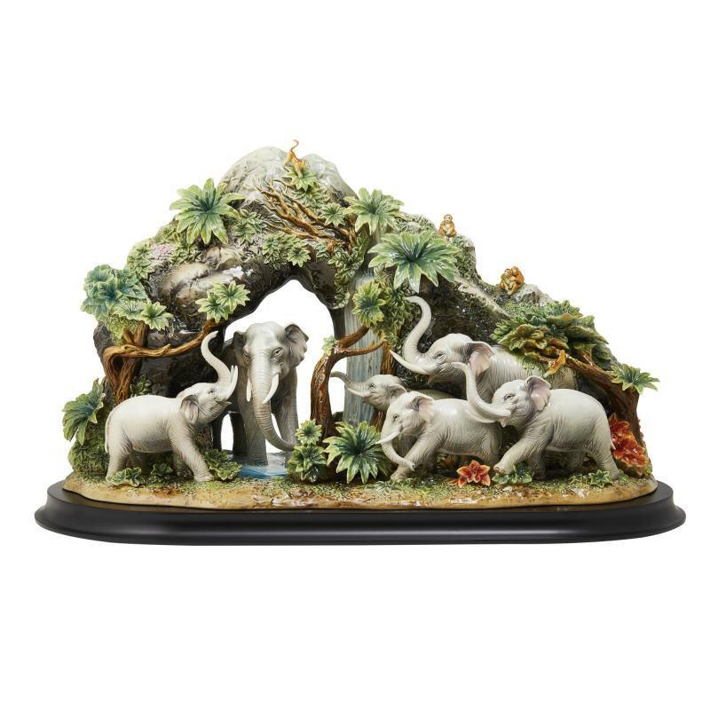 Franz Collection Elephants Figurine FZ03680