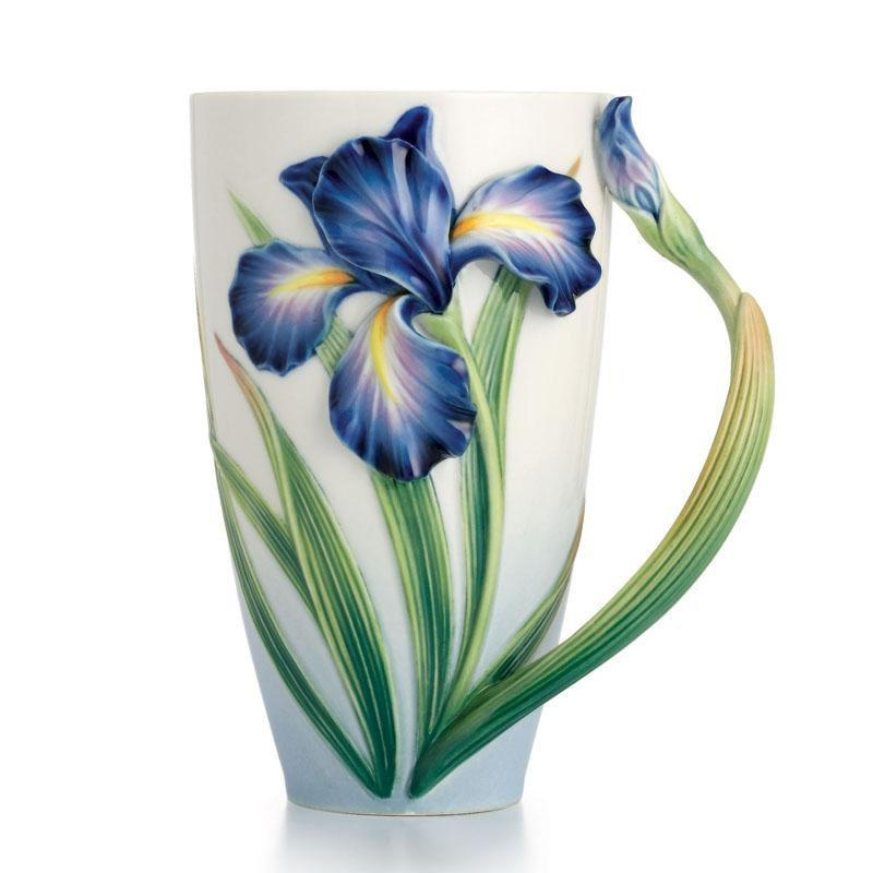 Franz Collection Eloquent Iris Mug FZ02478
