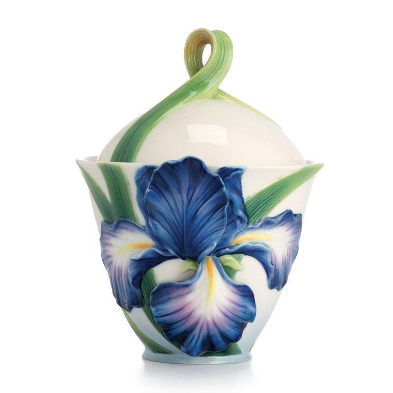 Franz Collection Eloquent Iris Sugar Jar FZ02482