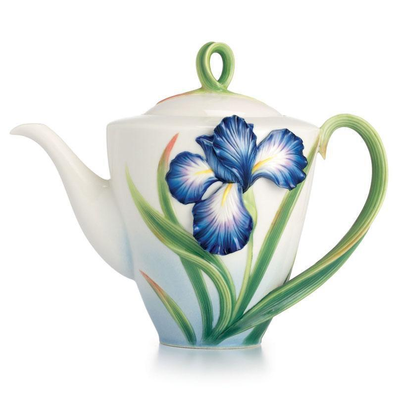 Franz Collection Eloquent Iris Teapot FZ02479