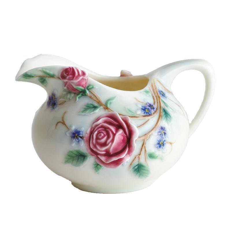 Franz Collection English Rose Creamer FZ00696