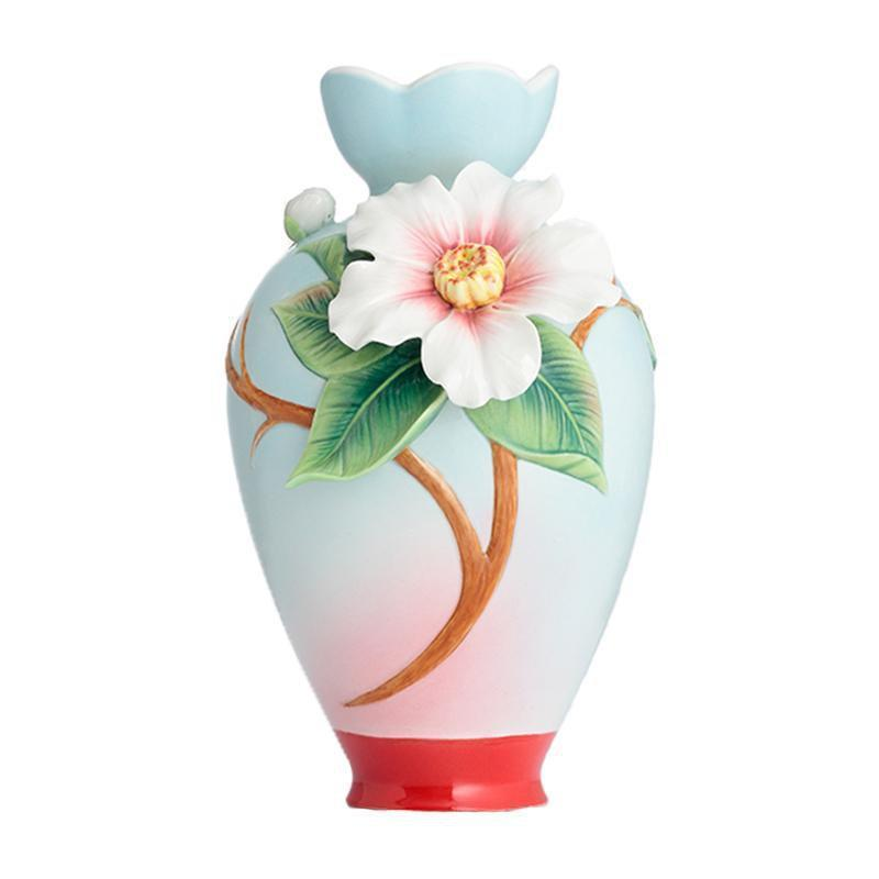 Franz Collection Everlasting Love Small Camellia Vase FZ02897