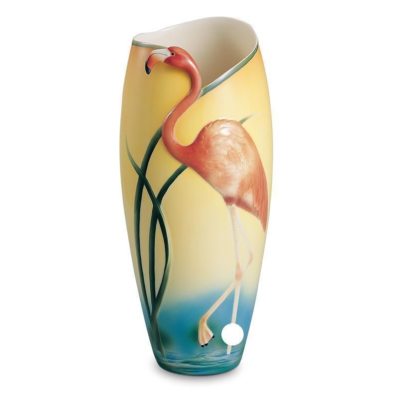 Franz Collection Flamingo Vase FZ00075