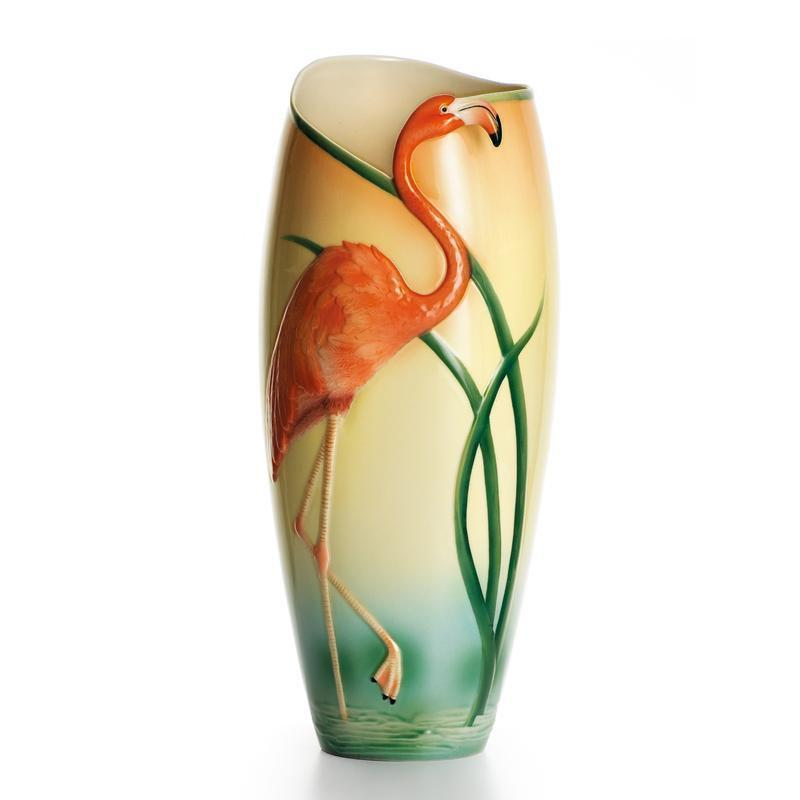 Franz Collection Flamingo Vase FZ00780