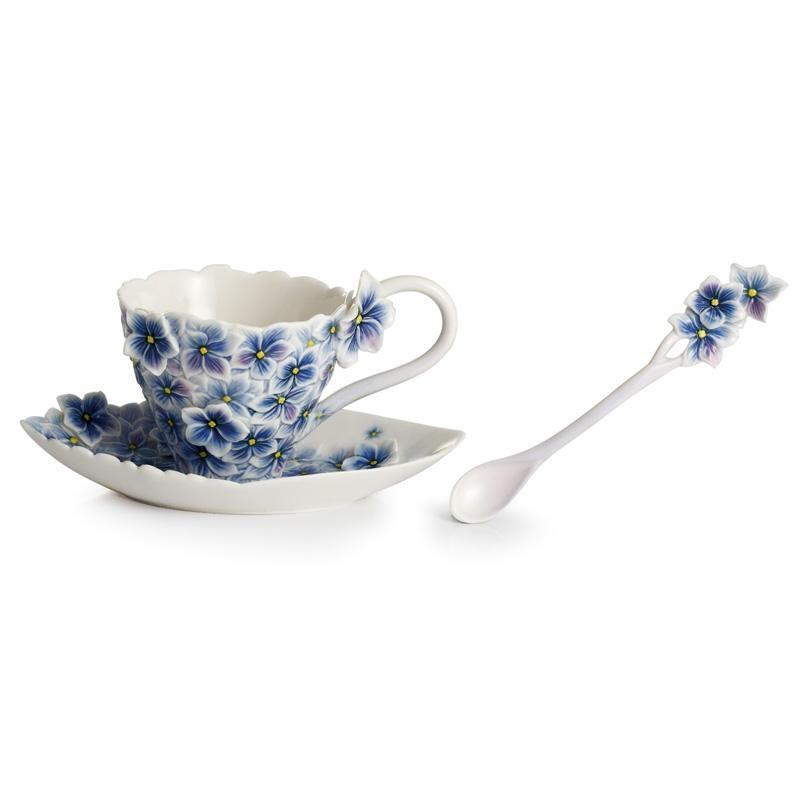 Franz Collection Floral Bouquet Cup Saucer & Spoon FZ01834