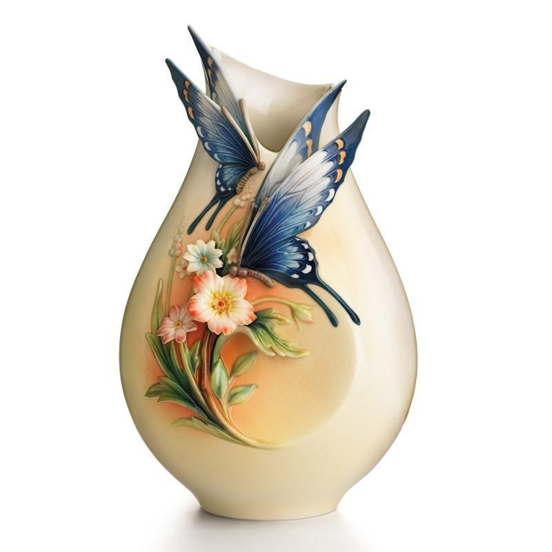 Franz Collection Fluttering Beauty Vase Small FZ01839