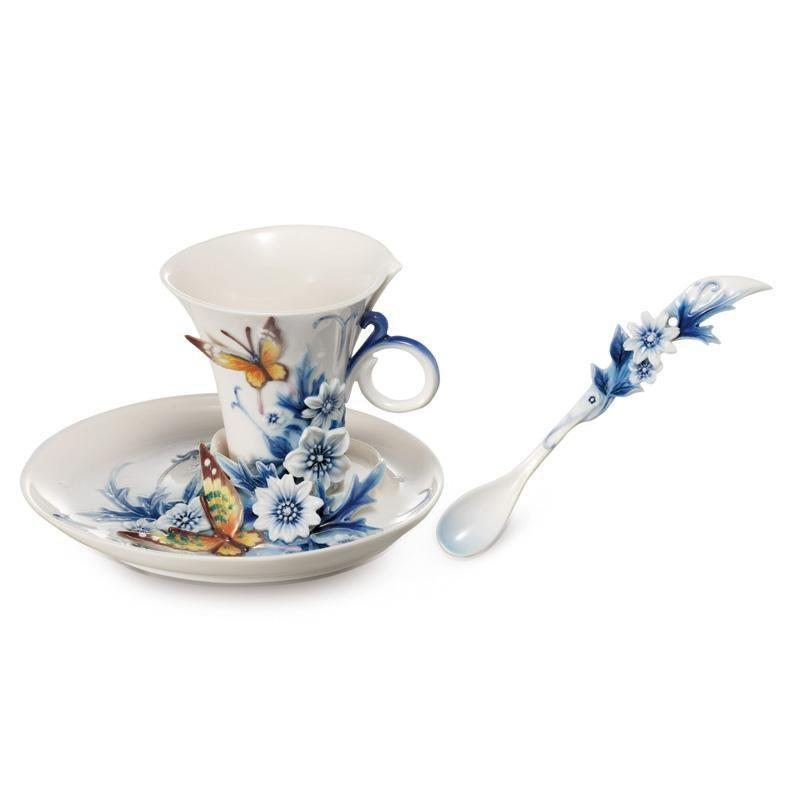 Franz Collection Forever Wedding Teacup & Saucer FZ02057