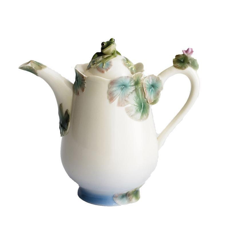 Franz Collection Frog Design Teapot FZ00176