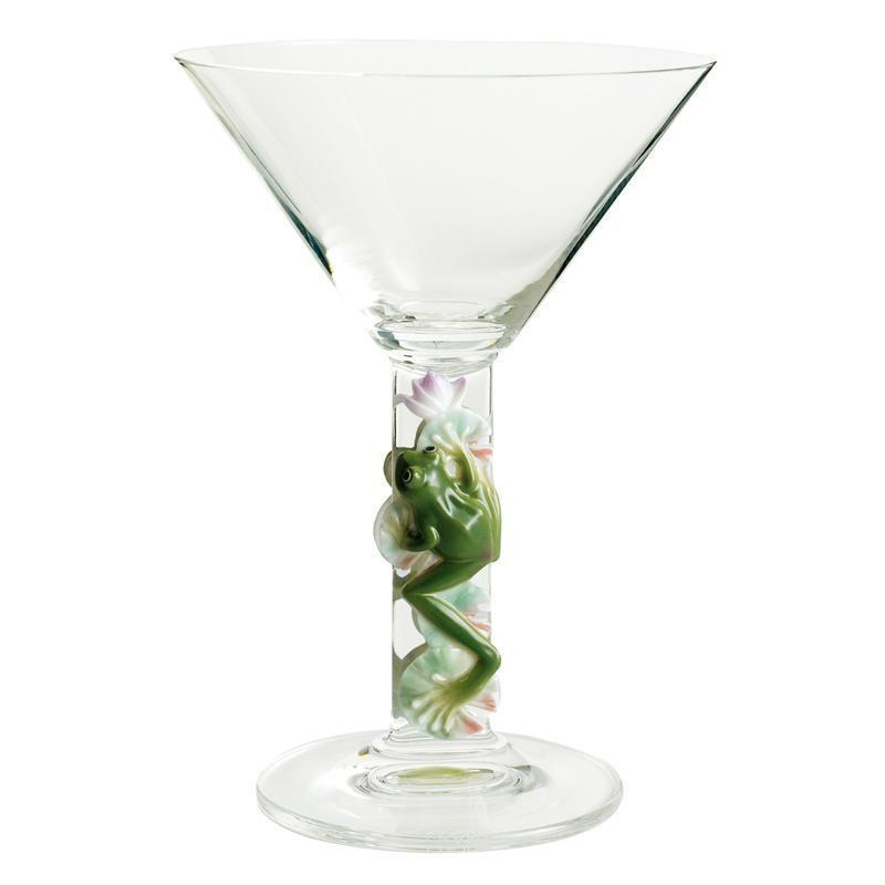 Franz Collection Frog Martini Glass FZ00958