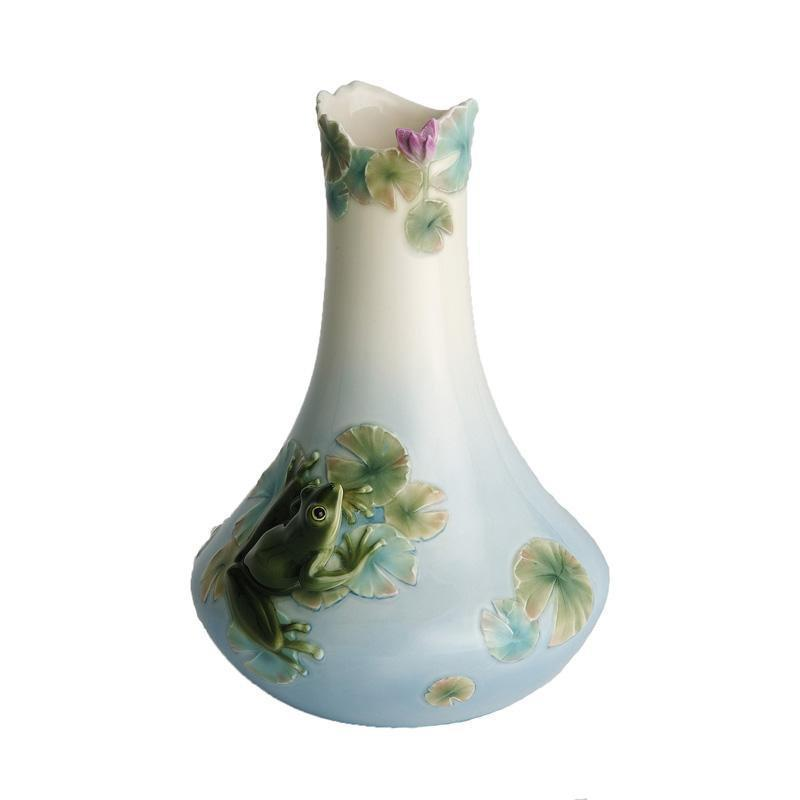 Franz Collection Frog Small Vase FZ00014