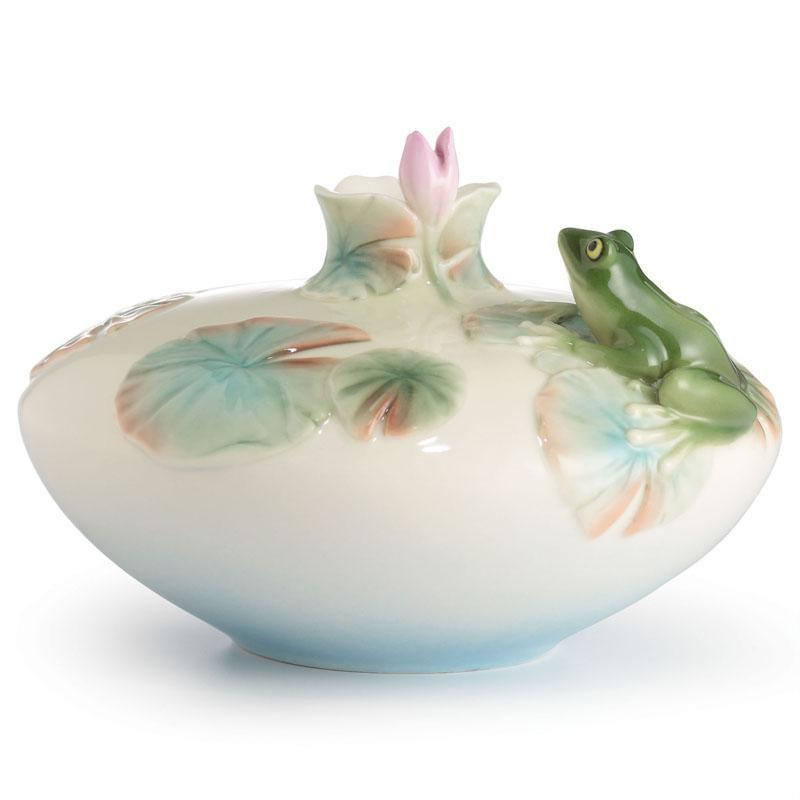 Franz Collection Frog Small Vase FZ02592