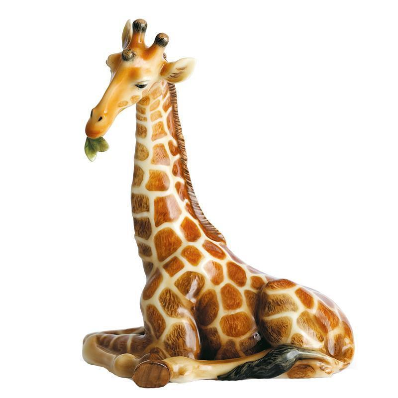 Franz Collection Giraffe Endless Beauty Figurine FZ00478