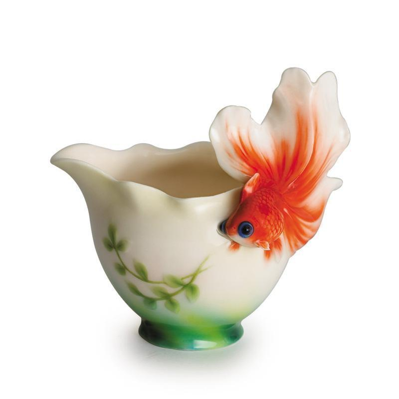 Franz Collection Goldfish Creamer FZ00440