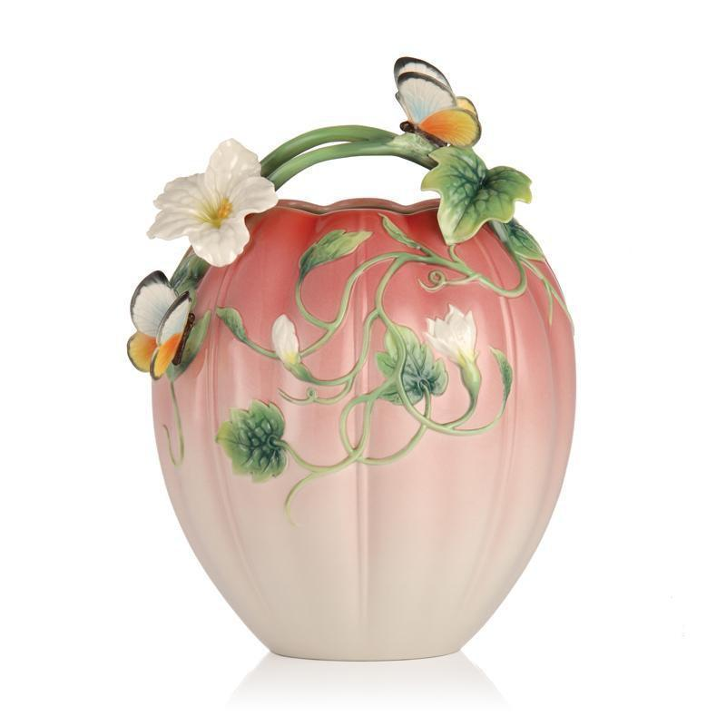 Franz Collection Happy Family Butterfly Vase FZ03213
