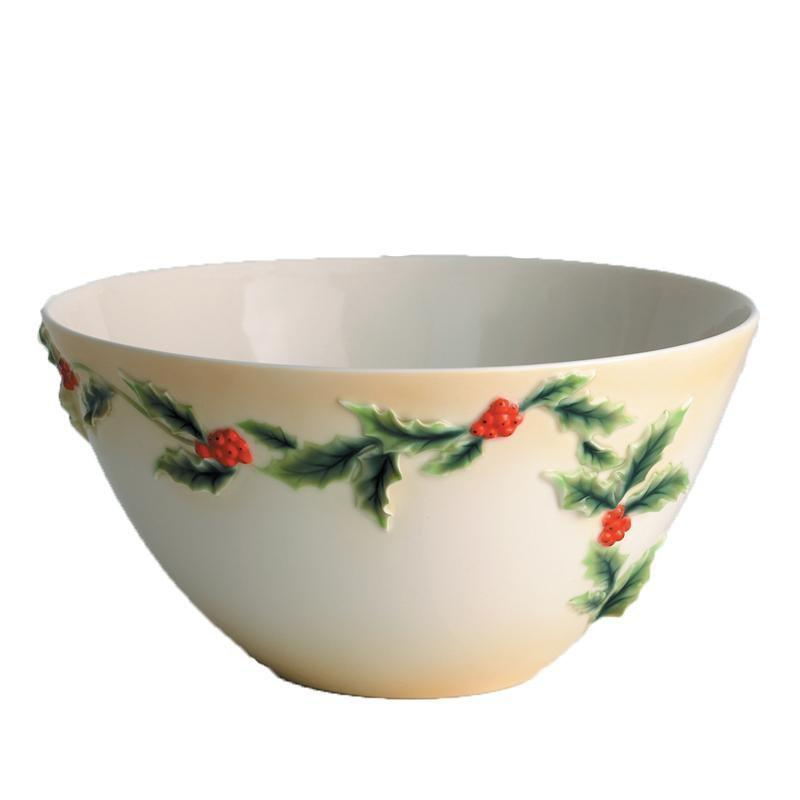 Franz Collection Holly Berries Bowl FZ00584