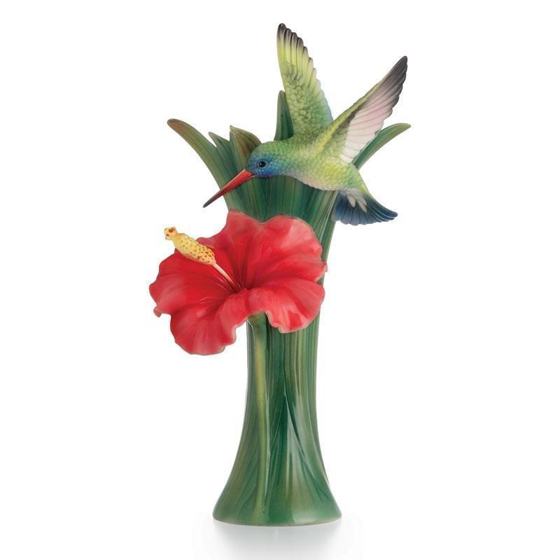 Franz Collection Hummingbird Small Vase FZ02582