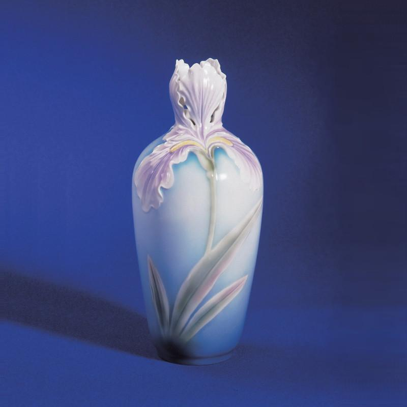 Franz Collection Iris Lavender Vase XP1811