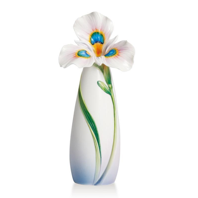 Franz Collection Iris Peacock Vase Small  FZ02300