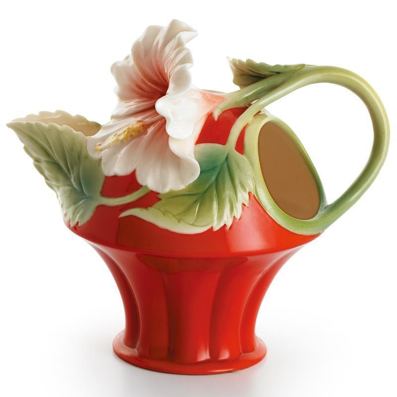 Franz Collection Island Beauty Hibiscus Creamer FZ00979