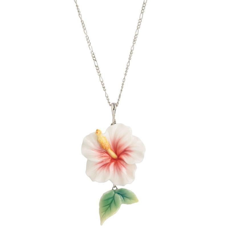 Franz Collection Island Beauty Hibiscus Necklace FJ00277