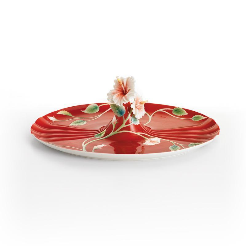 Franz Collection Island Beauty Hibiscus Tray FZ00980