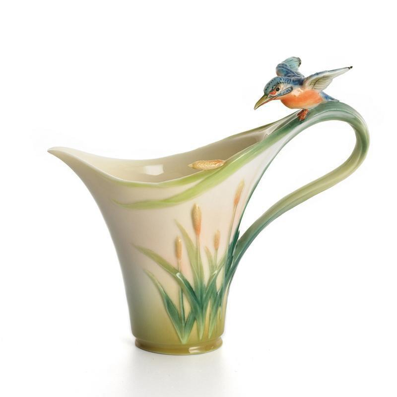 Franz Collection Kingfisher Creamer FZ01184