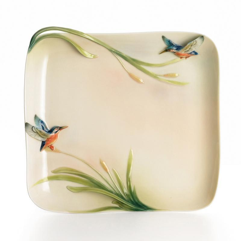 Franz Collection Kingfisher Platter FZ01187