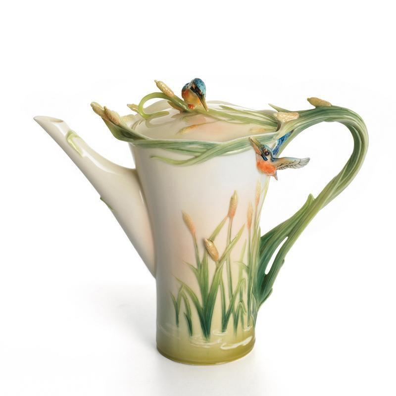 Franz Collection Kingfisher Teapot FZ01186