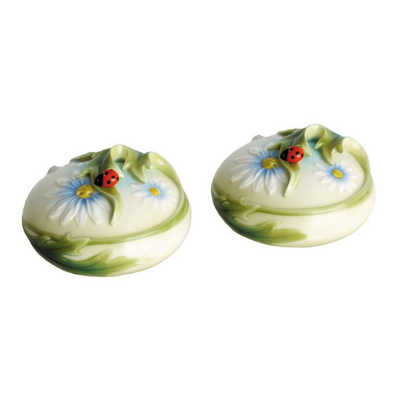 Franz Collection Ladybug Pair Salt & Pepper FZ00593
