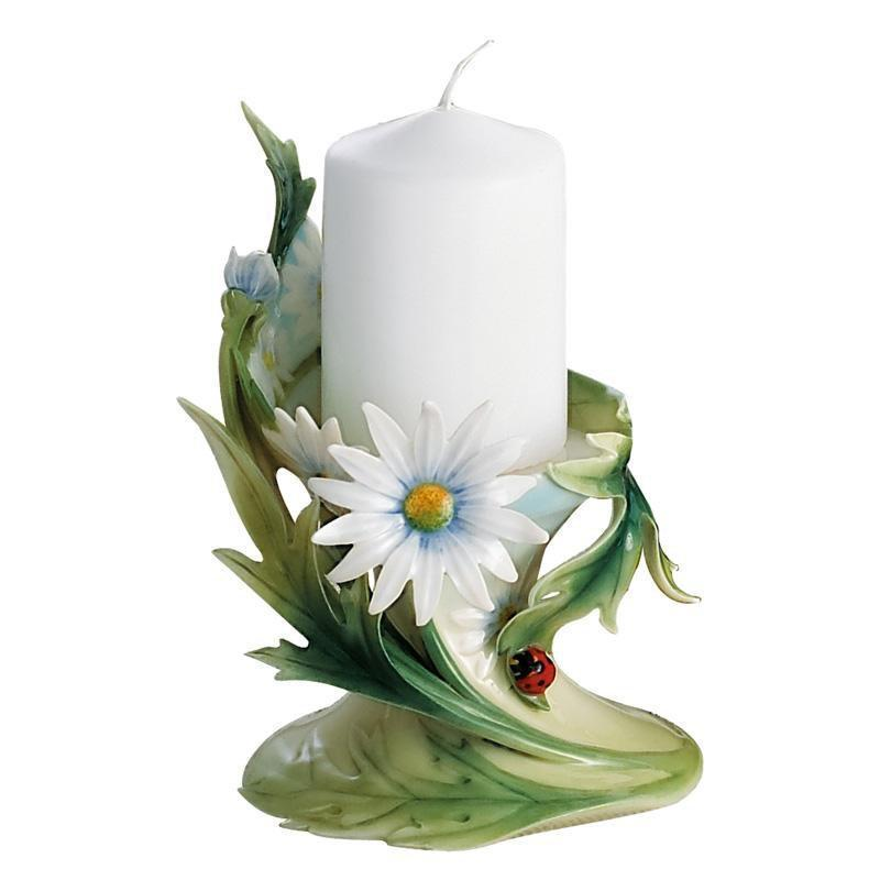 Franz Collection Ladybug Pillar Candleholder FZ00444