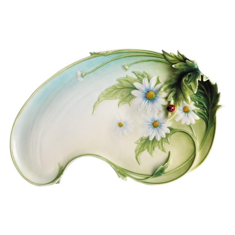 Franz Collection Ladybug Platter FZ00402