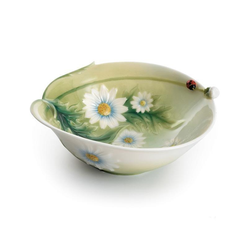 Franz Collection Ladybug Salad Bowl FZ00591