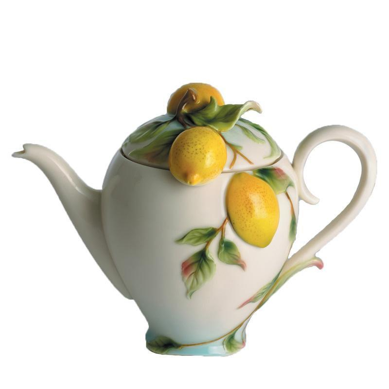 Franz Collection Lemon Teapot FZ00475