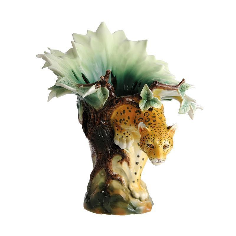Franz Collection Leopard Vase FZ00235