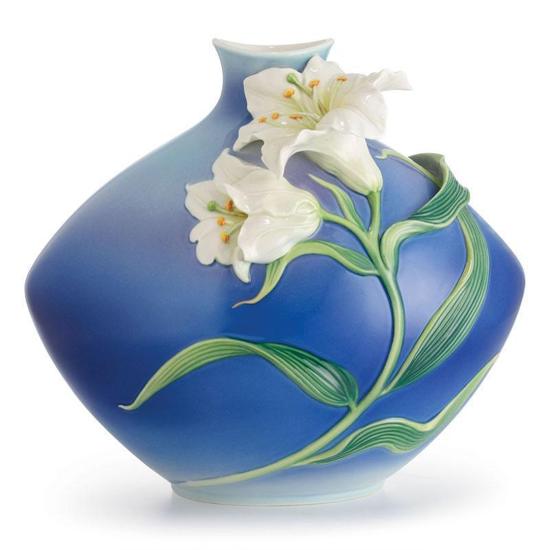 Franz Collection Lily Flower Mid Size Vase FZ02620
