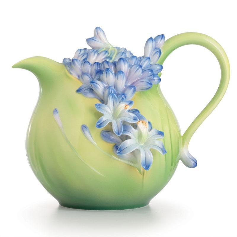 Franz Collection Lily Of The Nile Teapot FZ02616