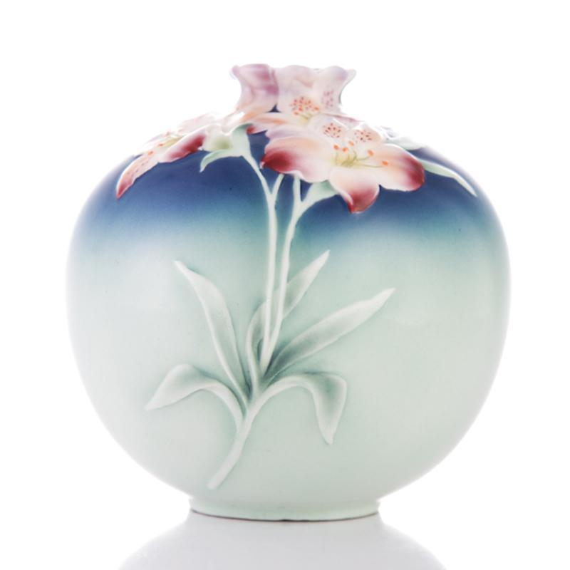 Franz Collection Lily Round Vase XP1894