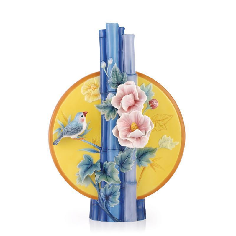 Franz Collection Longing Cotton Roses Vase FZ03503