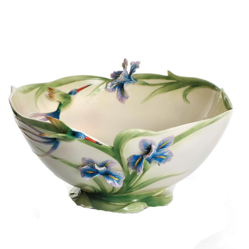 Franz Collection Longtail Hummingbird Table Bowl FZ01300